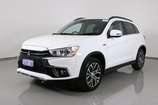 2019 Mitsubishi ASX XC MY19 LS (2WD) White Continuous Variable Wagon.