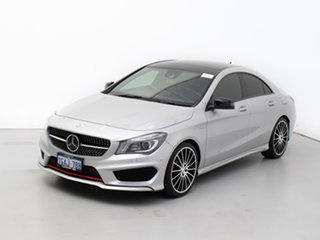 2016 Mercedes-Benz CLA250 117 MY15 4Matic Silver 7 Speed Automatic Coupe