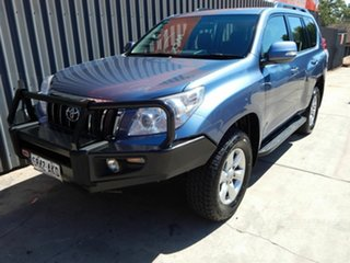2011 Toyota Landcruiser Prado KDJ150R GXL Blue 5 Speed Sports Automatic Wagon.