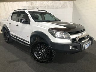 2017 Holden Colorado RG MY17 Z71 Pickup Crew Cab Summit White 6 Speed Sports Automatic Utility.