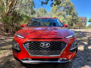 2017 Hyundai Kona OS MY18 Elite 2WD Tangerine Comet 6 Speed Sports Automatic Wagon