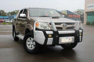 2005 Toyota Hilux KUN26R SR5 (4x4) Gold 5 Speed Manual Dual Cab Pick-up.