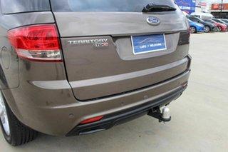 2012 Ford Territory SZ TX Seq Sport Shift Brown 6 Speed Sports Automatic Wagon.