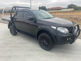 2018 Mitsubishi Triton MQ MY18 GLS Double Cab Black 5 Speed Sports Automatic Utility.
