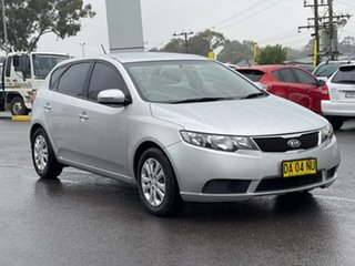 2011 Kia Cerato SI Bright Silver Sports Automatic Hatchback.