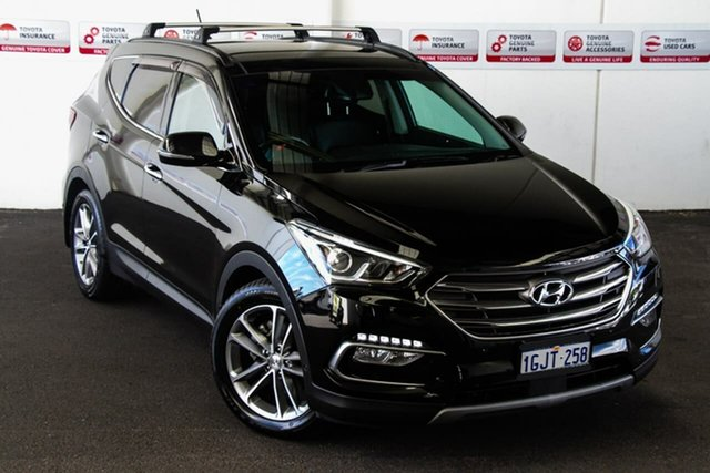 Pre-Owned Hyundai Santa Fe DM5 MY18 Highlander CRDi (4x4) Rockingham, 2017 Hyundai Santa Fe DM5 MY18 Highlander CRDi (4x4) 6 Speed Automatic Wagon