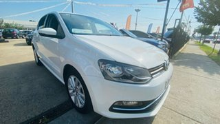 2016 Volkswagen Polo 6R MY17 81TSI DSG Comfortline 7 Speed Sports Automatic Dual Clutch Hatchback.