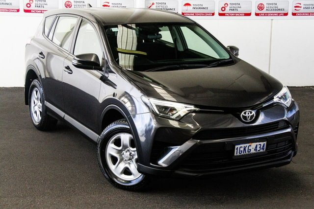 Pre-Owned Toyota RAV4 ZSA42R MY17 GX (2WD) Rockingham, 2017 Toyota RAV4 ZSA42R MY17 GX (2WD) Graphite Continuous Variable Wagon
