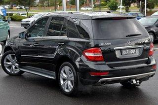 2010 Mercedes-Benz M-Class W164 MY10 ML500 Sports Luxury Black 7 Speed Sports Automatic Wagon.