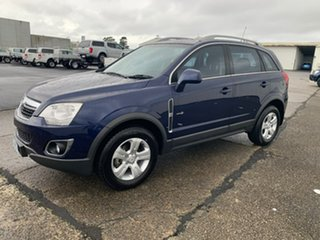 2011 Holden Captiva CG Series II 5 Blue 6 Speed Sports Automatic Wagon