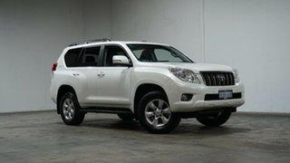 2013 Toyota Landcruiser Prado KDJ150R Altitude White 5 Speed Sports Automatic Wagon.