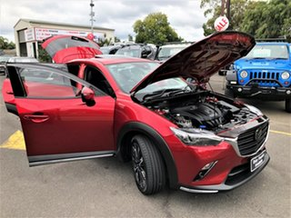 2018 Mazda CX-3 DK4W7A Akari SKYACTIV-Drive i-ACTIV AWD Red 6 Speed Sports Automatic Wagon