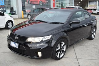 2012 Kia Cerato TD MY12 Koup SLS Black 6 Speed Sports Automatic Coupe.