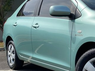 2006 Toyota Yaris NCP93R YRS Green 4 Speed Automatic Sedan