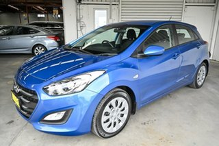 2016 Hyundai i30 GD4 Series II MY17 Active Red 6 Speed Sports Automatic Hatchback