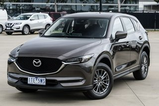 2017 Mazda CX-5 KF2W7A Maxx SKYACTIV-Drive FWD Sport Bronze 6 Speed Sports Automatic Wagon.