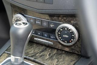 2010 Mercedes-Benz C-Class W204 MY10 C250 CGI Avantgarde Obsidian Black 5 Speed Sports Automatic