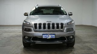 2015 Jeep Cherokee KL MY16 Limited Silver 9 Speed Sports Automatic Wagon