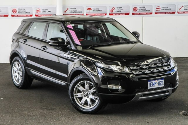 Pre-Owned Land Rover Range Rover Evoque LV MY13 TD4 Pure Rockingham, 2013 Land Rover Range Rover Evoque LV MY13 TD4 Pure 6 Speed Automatic Wagon