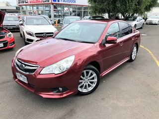 2011 Subaru Liberty B5 MY11 2.5i Lineartronic AWD Premium Red 6 Speed Constant Variable Sedan.