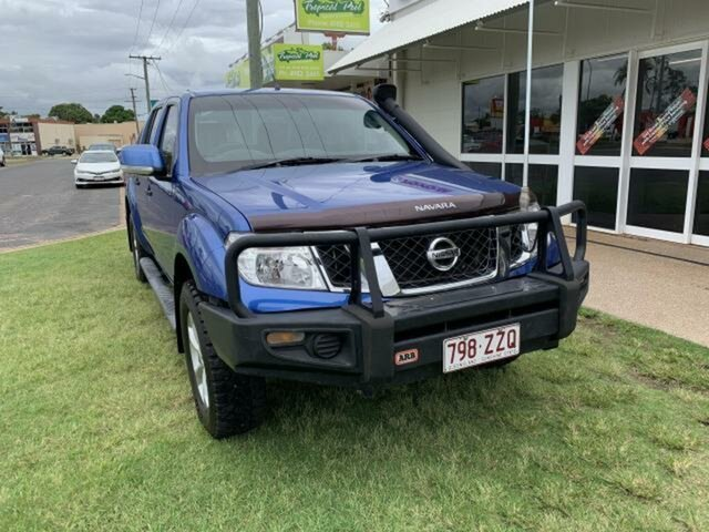 Pre-Owned Nissan Navara D40 Series 4 ST-X (4x4) Emerald, 2012 Nissan Navara D40 Series 4 ST-X (4x4) Blue 6 Speed Manual Dual Cab Pick-up