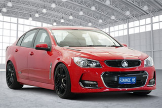 2017 Holden Commodore VF II MY17 SS Red 6 Speed Sports Automatic Sedan.