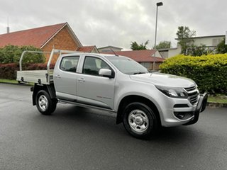 2018 Holden Colorado RG LS Silver 6 Speed Automatic Dual Cab.