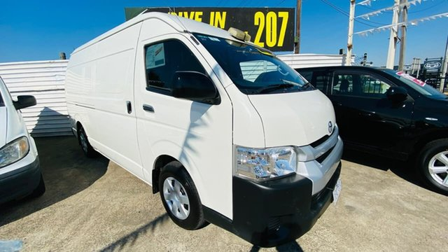 Used Toyota HiAce KDH221R High Roof Super LWB Maidstone, 2015 Toyota HiAce KDH221R High Roof Super LWB 4 Speed Automatic Van