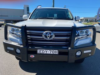 2019 Toyota Landcruiser VDJ200R GXL White 6 Speed Sports Automatic Wagon