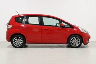 2010 Honda Jazz GE VTi Red 5 Speed Automatic Hatchback
