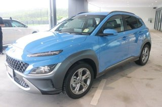 2020 Hyundai Kona Os.v4 MY21 Elite 2WD Surfy Blue 8 Speed Constant Variable Wagon.
