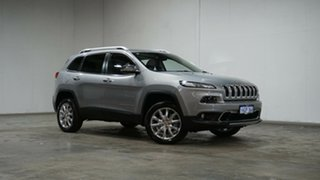 2015 Jeep Cherokee KL MY16 Limited Silver 9 Speed Sports Automatic Wagon.