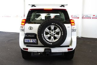 2012 Toyota Landcruiser Prado KDJ150R 11 Upgrade GX (4x4) Glacier White 5 Speed Sequential Auto