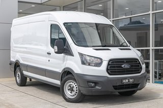 2017 Ford Transit VO 350L (Mid Roof) White 6 Speed Manual Van.