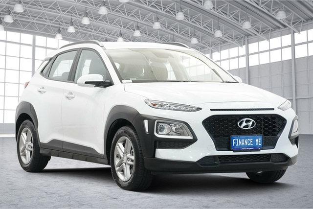 Used Hyundai Kona OS.2 MY19 Active 2WD Victoria Park, 2019 Hyundai Kona OS.2 MY19 Active 2WD White 6 Speed Sports Automatic Wagon
