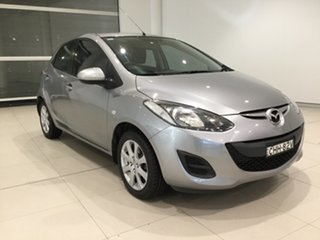 2012 Mazda 2 DE10Y2 MY12 Neo Aluminium/de,dh 4 Speed Automatic Hatchback.