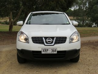 2007 Nissan Dualis J10 ST X-tronic AWD White 6 Speed Constant Variable Hatchback.