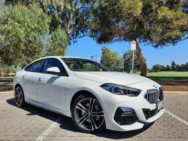 Used BMW 2 Series F44 218i Gran Coupe DCT Steptronic M Sport Adelaide, 2020 BMW 2 Series F44 218i Gran Coupe DCT Steptronic M Sport White 7 Speed