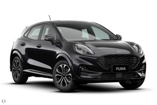 2020 Ford Puma JK 2021.25MY ST-Line Black 7 Speed Sports Automatic Dual Clutch Wagon.