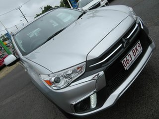 2019 Mitsubishi ASX XC MY19 ES 2WD Silver 1 Speed Constant Variable Wagon