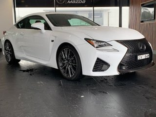 2014 Lexus RC USC10R RC F White 8 Speed Sports Automatic Coupe.