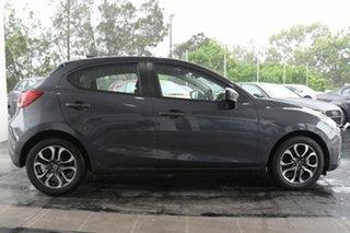 2018 Mazda 2 DJ2HAA Genki SKYACTIV-Drive Grey 6 Speed Sports Automatic Hatchback