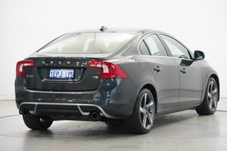2011 Volvo S60 F Series MY12 T5 PwrShift R-Design Grey 6 Speed Sports Automatic Dual Clutch Sedan