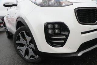 2018 Kia Sportage QL MY18 GT-Line AWD White 6 Speed Sports Automatic Wagon.