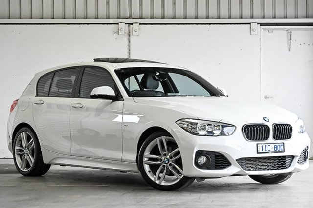Used BMW 1 Series F20 LCI 118i Steptronic Sport Line Laverton North, 2017 BMW 1 Series F20 LCI 118i Steptronic Sport Line White 8 Speed Sports Automatic Hatchback