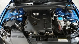 2011 Audi A5 8T MY11 S Tronic Quattro Blue 7 Speed Sports Automatic Dual Clutch Coupe