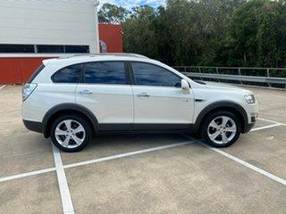 2011 Holden Captiva CG MY10 LX (4x4) White 5 Speed Automatic Wagon.