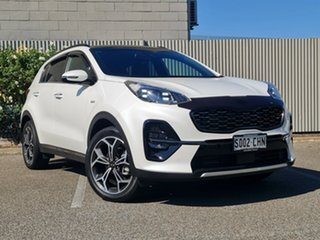 2020 Kia Sportage QL MY20 GT-Line AWD White 6 Speed Sports Automatic Wagon