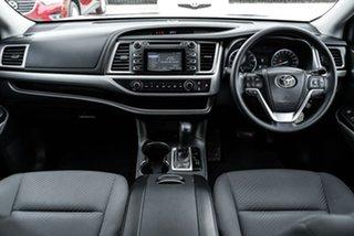 2014 Toyota Kluger GSU50R GX Red Sports Automatic SUV.