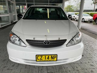 2003 Toyota Camry ACV36R Altise White 4 Speed Automatic Sedan.